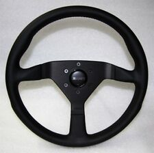 Momo Leder Sportlenkrad Montecarlo 350mm schwarz black steering wheel volante