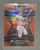 AARON JUDGE 2020 Panini Select Baseball /199 RED PRIZM #94 NEW YORK YANKEES!
