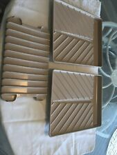 Set Of Three Anchor Hocking Microwave Cooking Dishes Bacon Cooking Trays #27