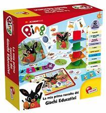 NEW Lisciani Giochi 75867 Bing Raccolta Giochi Educativi Baby giochi di logica