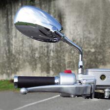 10mm Chrome Motorcycle Mirrors For Honda Shadow Spirit 750 1100 Vtx1300 Vtx1800 (Fits: More than one vehicle)