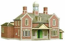 Superquick Railway Terminal Station Die-Cut Card Building Kit A10 00/HO Gauge