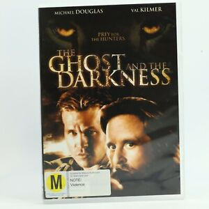 The Ghost and the Darkness Michael Douglas Good Condition Free Tracked Post