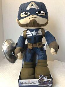 Captain America Plush Figure 2015 Winter Soldier Avengers Action Civil War
