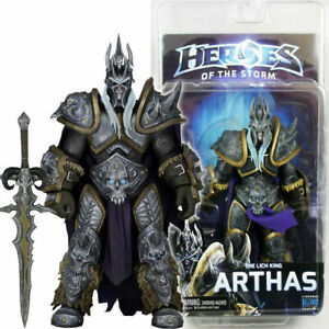 """NECA Arthas Lich King Heroes of Storm 7"""" Action Figure 1:12 Blizzard Warcraft"""