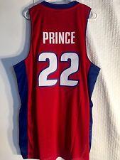 Adidas Swingman NBA Jersey Detroit Pistons Tayshaun Prince Red sz 2X