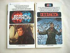 Robert Weverka--SEARCH #1 & 2 MOONROCK Paperbacks Fine UR Movie Tie-In