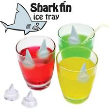 Shark Fin Floating Jaws Shape Ice Cube Cubes Silicone Tray Mold HZ