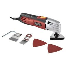 Electric Power Multi Function Vibrating Power Sander Cutter Offset Saw Tool Kit