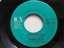 """GEORGE LUCAS -  Good Thing Man / I Want My Mule Back 1977 PRIVATE R&B SOUL 7"""""""