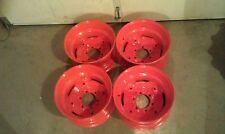 4 Wheels/Rims for Bobcat M444, M500, M600, M610,-16.5X8.25X6 fit 10-16.5 tires