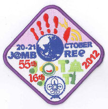 2012 SCOUTS OF CHINA (TAIWAN) - Jamboree On the Air & Internet JOTA JOTI Patch 1