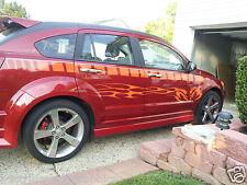 Dodge Caliber 200a Faded Strobe Side stripes Stripe Graphics ALL YR Model SRT4