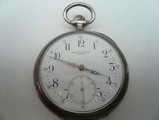 Silver LONGINES pocketwatch, antique, Diamond Set Main, 1094220