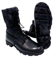 U.S. Military Jungle Boots BLACK - Genuine Military Surplus - Various Sizes NEW