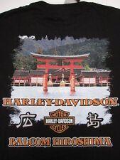 Japanese Hiroshima Harley Davidson Japan T-Shirt Size XL