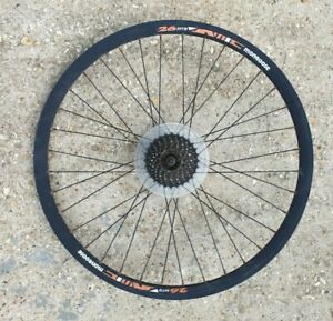 "Mongoose Rear Mountain bike Disc wheel 26"" Retro MTB"
