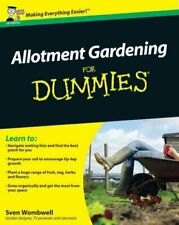 Allotment Gardening for Dummies, Paperback by Wombwell, Sven, Brand New, Free...