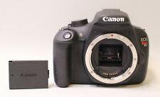 CANON REBEL T5 18.0MP DIGITAL SLR DSLR CAMERA BODY ONLY - 3,673 SHUTTER COUNT