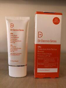 DR DENNIS GROSS Dark Spot Sun Defense Broad Spectrum SPF 50 Sunscreen BNIB