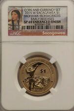 2015-W Native American Sacagawea Dollar NGC SP 69 Enhanced Finish