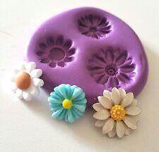 Tiny Margarita Flores Molde de Silicona Pastelería Glaseado Fondant Glaseado Tarta Decorar