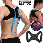 Unisex Posture Corrector Upper Back Support Body Belt Shoulder Pain Clavicle IA
