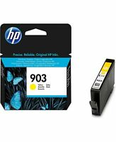 HP 903 Yellow Original Genuine Ink Inkjet Cartridge (T6L95AE) - New