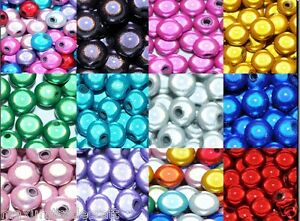 3D illusion miracle round acrylic beads various sizes and double &single colours