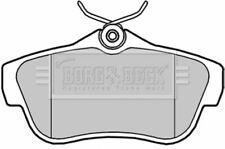 BORG BBP2043 BRAKE PAD SET DISC BRAKE Rear