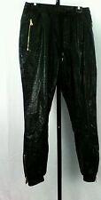 Wto2 Gold Edition Men's Xl Black 100% Polyurethane ( Faux Leather ) Pants