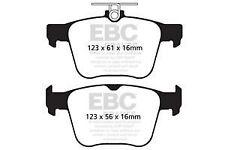DP42173R EBC Yellowstuff REAR Brake Pads fit S3 TT  TT 4wd TTS 4wd Golf Mk7 Pass