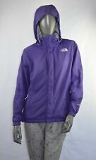 The North Face Women Waterproof Jacket In Purple, Size M, UK 10, VGC With Logo