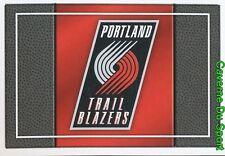 291 TEAM LOGO USA PORTLAND TRAIL BLAZERS STICKER NBA BASKETBALL 2017 PANINI