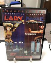 Lady Iron Monkey/ Eagle Fist DVD, 2002 Po Lien Chi Kuanchun Double Feature Movie