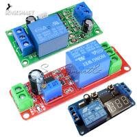 DC 12V NE555 Delay Time Relay Timer Switch Adjustable Digitla LED Module Board