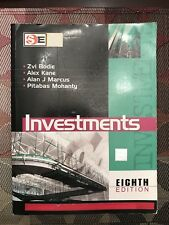 Investments 8th Edition Softcover by Zvi Bodie, Alan J. Marcus, Alex Kane