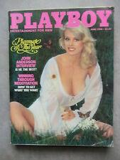 PLAYBOY (US)  6 - 1980  OLA RAY - DOROTHY STRATTEN