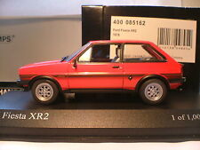 Extremely rare MINICHAMPS 1/43 1978 Ford fiesta xr2 Only 1008 PC Worldwide NLA