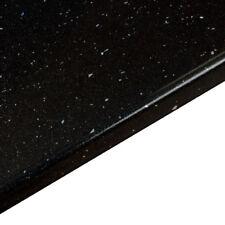 Black Sparkle Andromeda Bathroom Worktop 2m x 365mm x 28mm, Laminate Counter Top