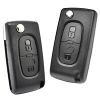 Key Shell Replacement For Peugeot 308 207 307 For Citroen C2 C3 C4 Remote Case