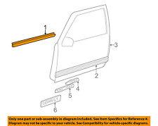 GM OEM Front Door Window Sweep-Belt Molding Weatherstrip Left 15991405