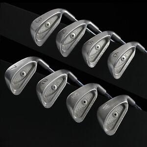 PING Eye 2 Iron Set RH, 3-W, BLACK Dot 8 clubs, ZZ Lite steel SAME DAY shipping