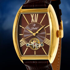 New Duboule Carlisle Automatic Mens Watch [Brown Leather Strap/Dial] MPRP~$2595