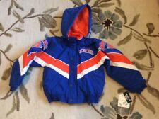 NEW YORK NY KNICKS Vintage STARTER Winter Jacket w/ Hood Youth Small S NEW NWT