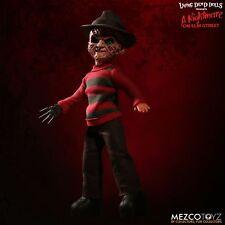 Living dead dolls Nightmare on Elm Street Talking Freddy Krueger Mezco en stock!