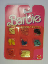 Moc 1984 Barbie Fashion Extras Doll Shoes Made in the Philippines