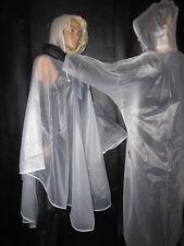 Poncho, regencape, PVC poncho, suave-diapositiva, lluvia prendas de vestir, M/L
