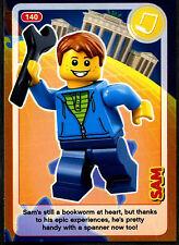 Sam #140 Sainsbury's Create The World Lego Minifigures Card (C381)