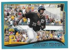 2014 Topps Update GREGORY POLANCO RC Rookie Wal-Mart Blue Pirates #US-20